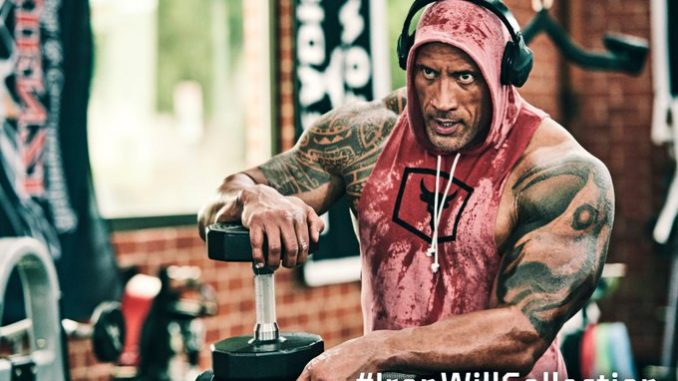 Dwayne 'The Rock' Johnson suffers face injury during a workout