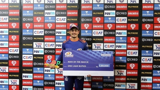 I try to give best start possible to Mumbai Indians: Quinton de Kock