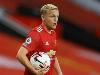 Van de Beek talks about absence of chances in starting XI at Man Utd