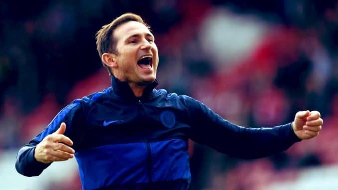 Frank Lampard says 'we are improving but cannot get carried away'