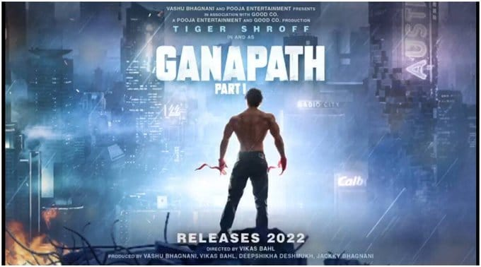 Tiger Shroff reveals the look of the upcoming action-thriller 'Ganapath'