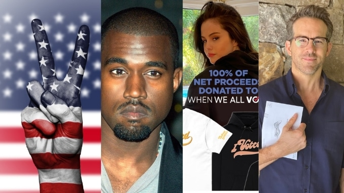 US Presidential election race 2020: Ryan Reynolds, Snoop Dogg, Kanye West vote for first time