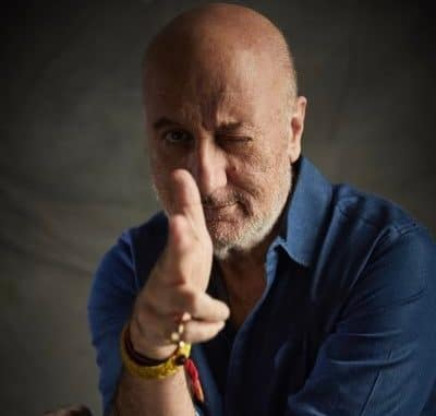 Anupam Kher hits 18.1 million marks on Twitter