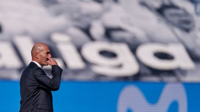 """Zidane takes full resposibility of loss against Valencia, says """"Fault is Mine"""""""