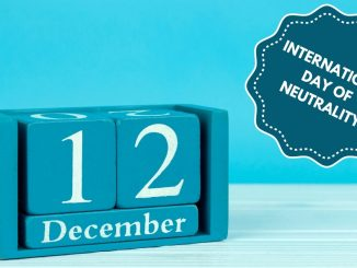 December 12th: International Day of Neutrality - Trendy Bash