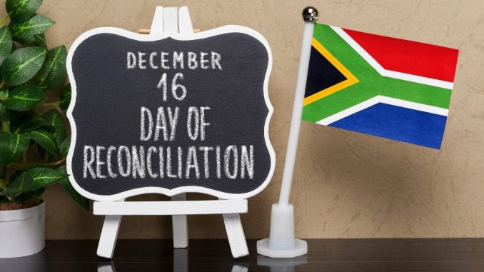 December 16th: Day of Reconciliation in South Africa - Trendy Bash