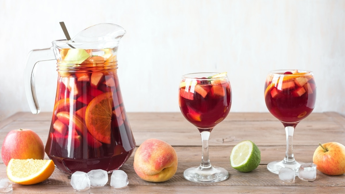 December 20th: National Sangria Day in the United States - Trendy Bash