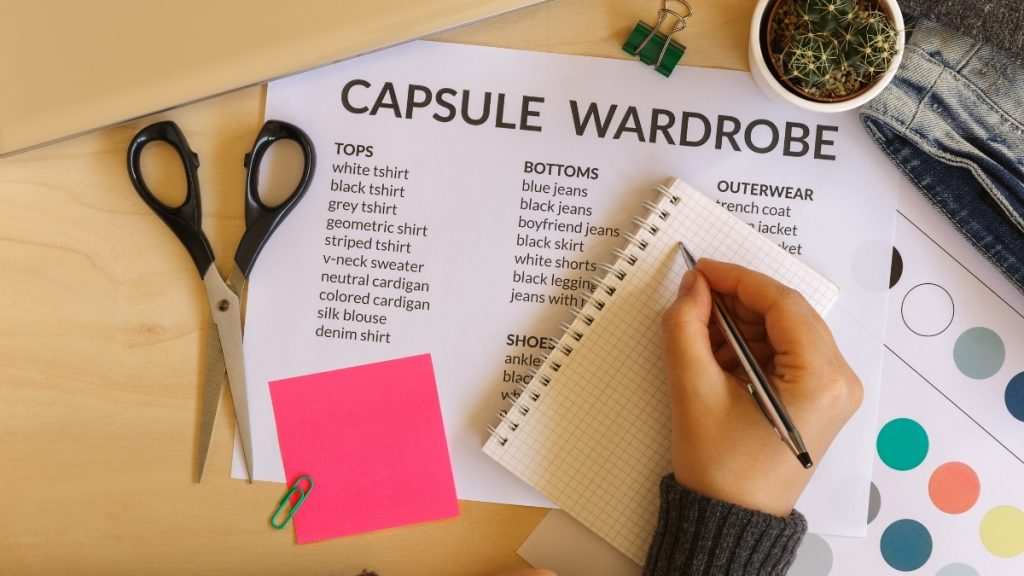 A Guide To An Artistic Capsule Wardrobe - Trendy Bash