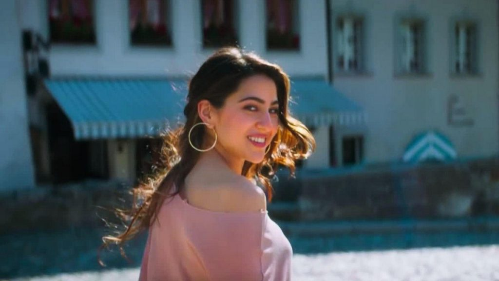 Sara Ali Khan featured in the iconic song 'Mirchi Lagi Toh' - Trendy Bash