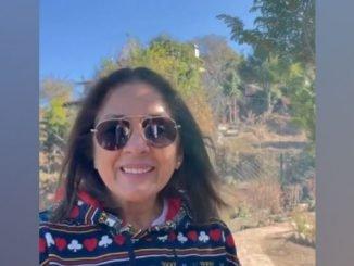 Neena Gupta sends 'hello from Mukteshwar'-TrendyBash