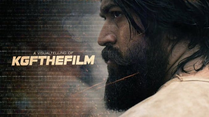 KGF: Chapter 2 poster unveil-TrendyBash