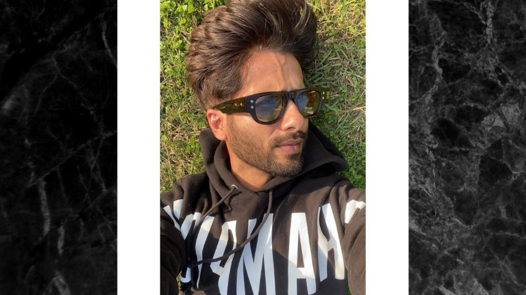 Shahid Kapoor shared sun-kissed pictures -TrendyBash