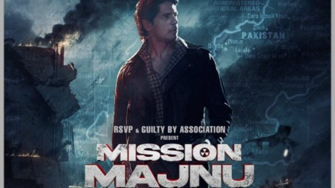 Sidharth Malhotra in 'Mission Majnu'-TrendyBash
