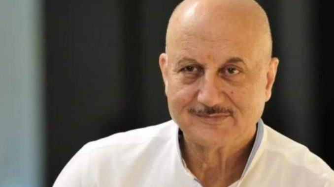 Anupam Kher shared a poem