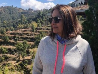 Neena Gupta shares enchanting scenery of snow capped mountains