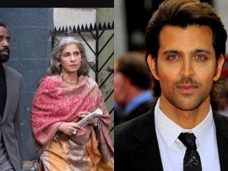 Hrithik Roshan praises Dimple Kapadia for her performance in 'Tenet'