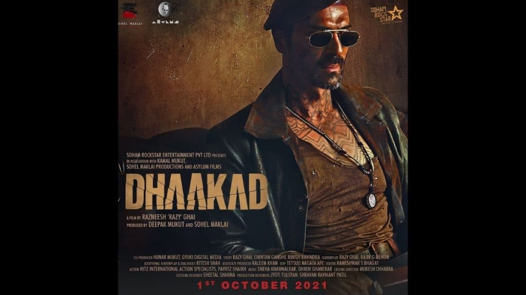Arjun Rampal disclose his first look from Dhaakad - Trendy Bash