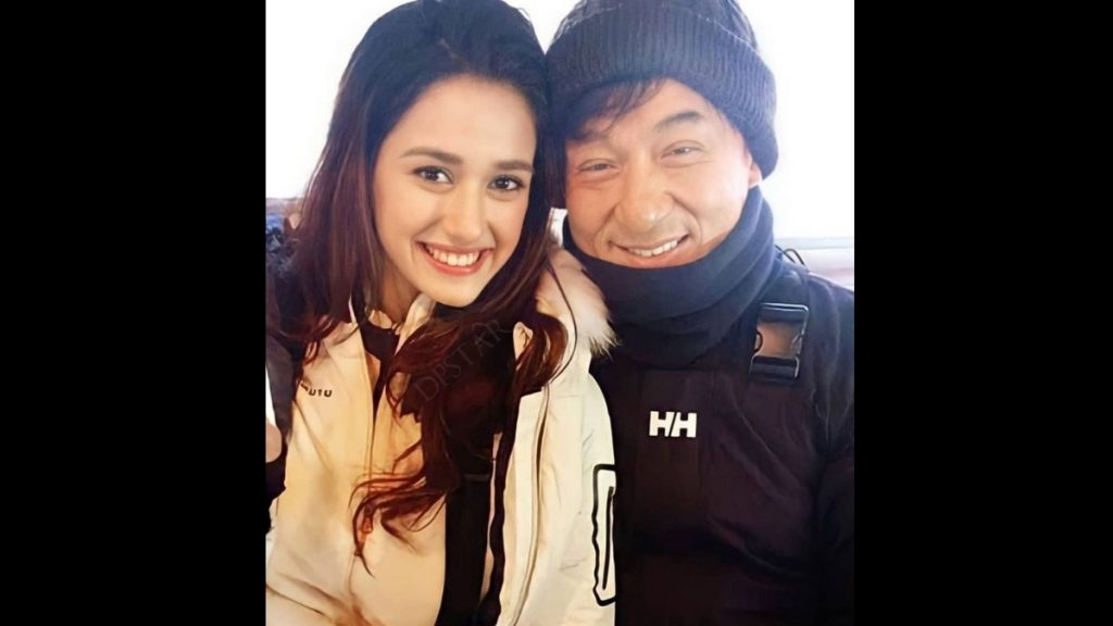 Disha Patani shares pictures with Jackie Chan -Trendy Bash