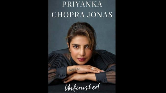 Priyanka Chopra excited on getting the first glance of her book - Trendy Bash
