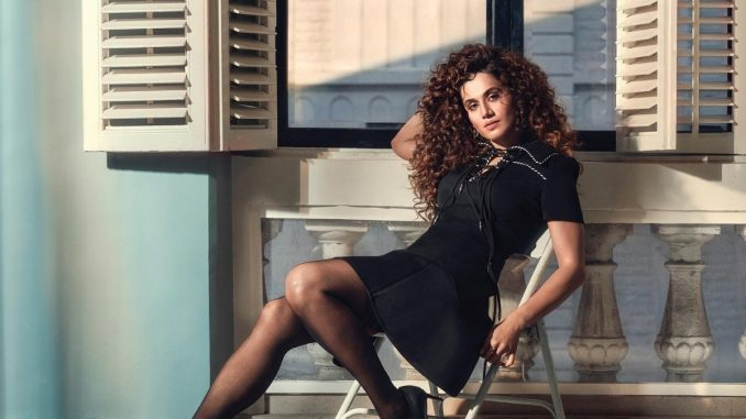 Taapsee Pannu heads to Bhuj for the last schedule of Rashmi Rocket - Trendy Bash