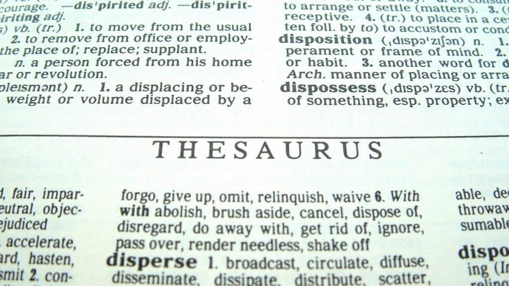 January 18th: National Thesaurus Day in the United States - Trendy