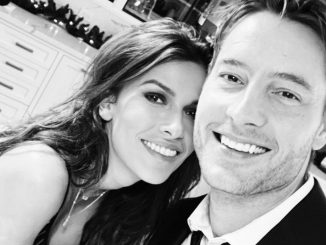 Justin Hartley shares pic on Instagram