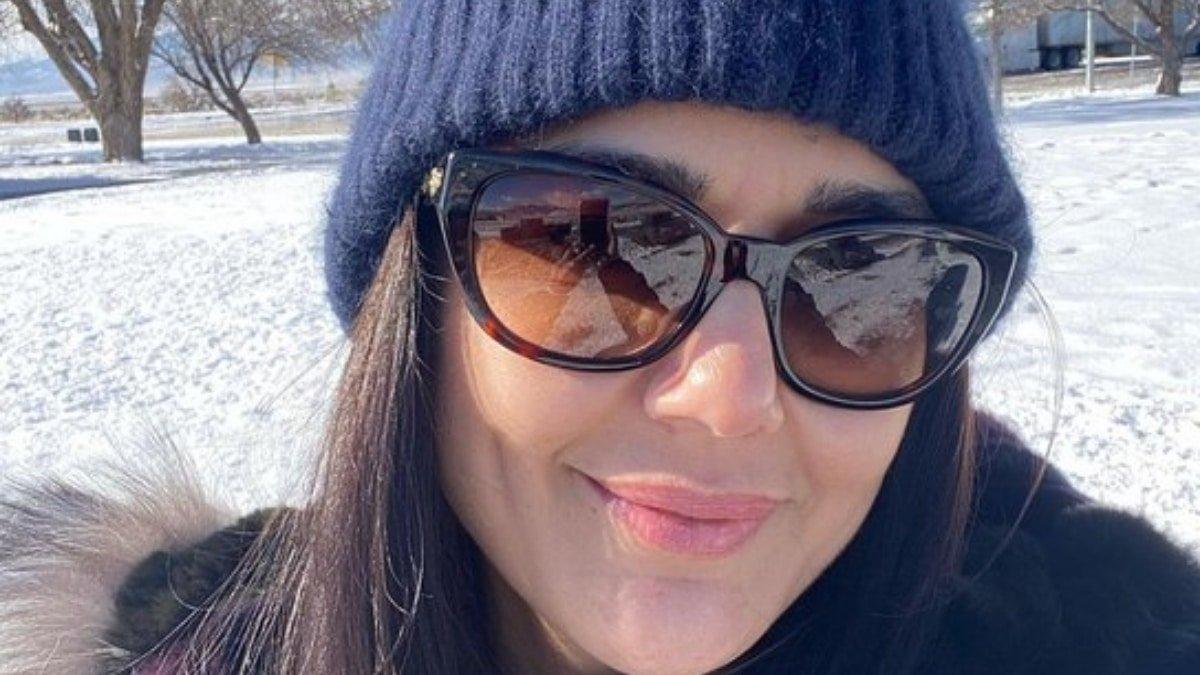 Preity Zinta shares a snowy glimpse of her road trip
