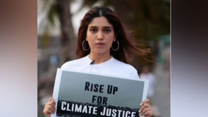 Climate Warrior Bhumi Pednekar thanks film fraternity for raising awareness about climate conservation