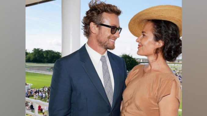Simon Baker, Rebecca Rigg part ways