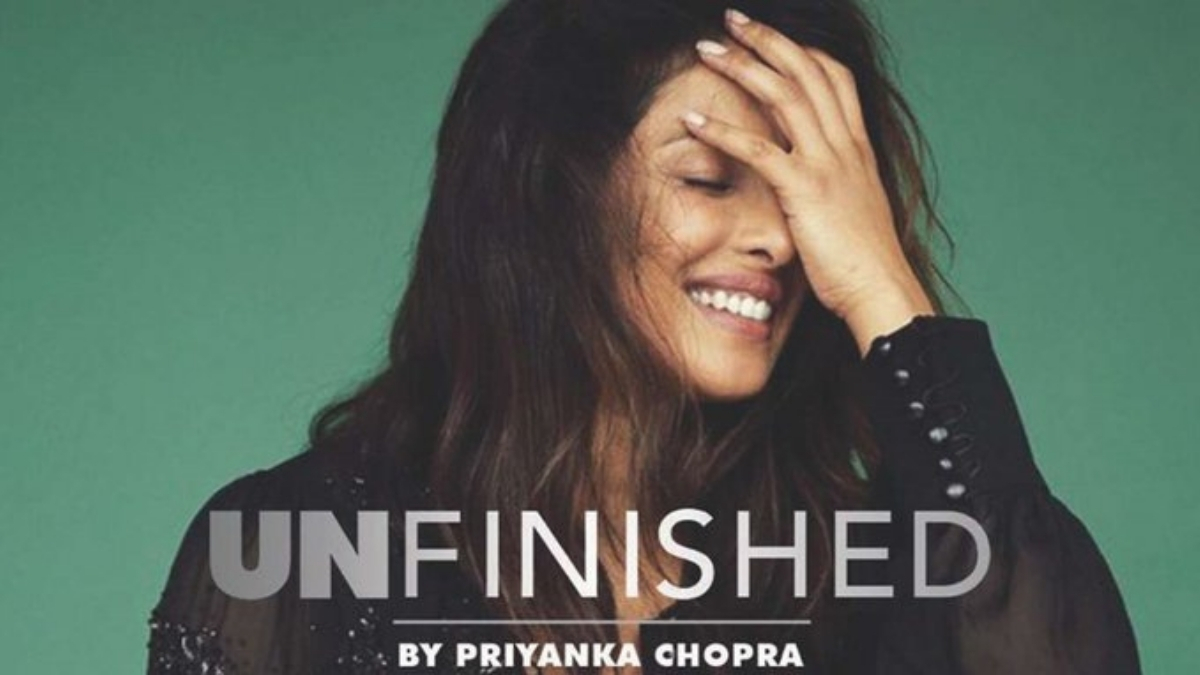Priyanka Chopra shares a glimpse of the recording session of her memoir 'Unfinished' Trebdy Bash