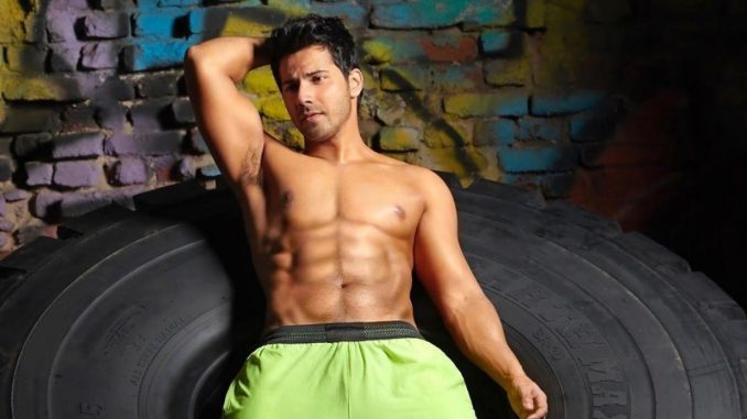 Varun Dhawan shares the shirtless picture on Instagram - Trendy Bash