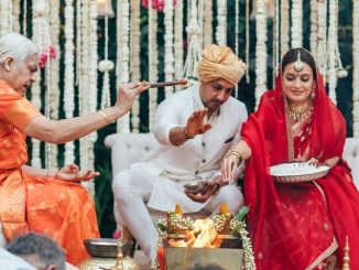 Dia Mirza shares pictures from her wedding with Vaibhav Rekhi - Trendy Bash
