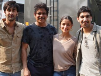 Nagarjuna Akkineni has wrapped up the shooting for Ayan Mukerji's next directorial venture 'Brahmastra', which also stars Amitabh Bachchan, Alia Bhatt, and Ranbir Kapoor - Trendy Bash