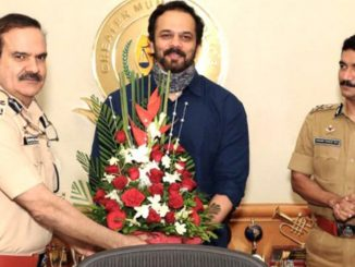 Rohit Shetty awarded for supporting Mumbai police