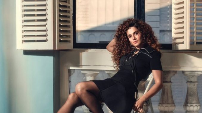 Taapsee Pannu shares first look from 'Looop Lapeta