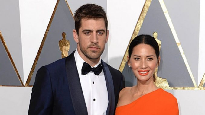 Shailene Woodley is dating Aaron Rodgers