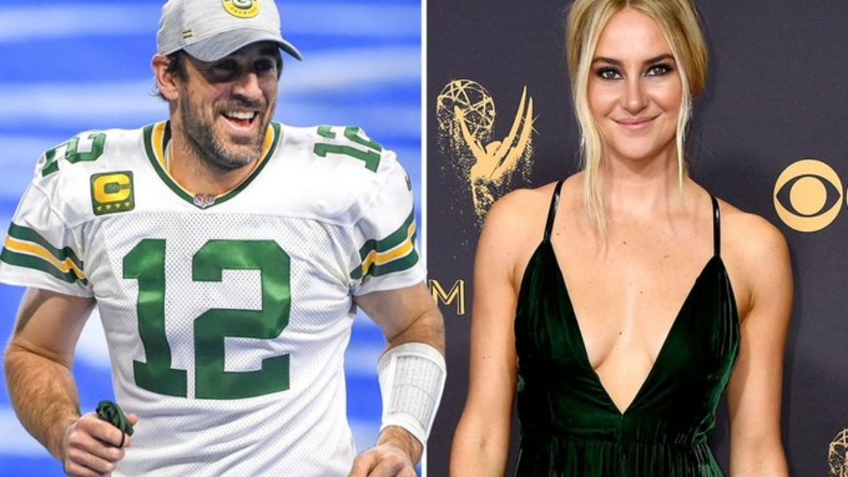 Aaron Rodgers, Shailene Woodley are 'very happy together'