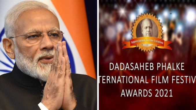 PM Narendra Modi sends out Best wishes to Dadasaheb Phalke International Film Festival Awards team