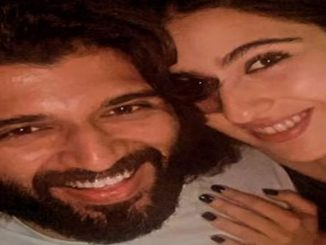 Sara Ali Khan's fan moment with Vijay Deverakonda