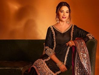 Madhuri Dixit exudes elegance in 'shades of black'