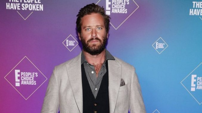 Armie Hammer's role to be recast in 'Gaslit' series