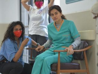 Taapsee Pannu shares a glimpse from 'Dobaaraa' sets with her body double