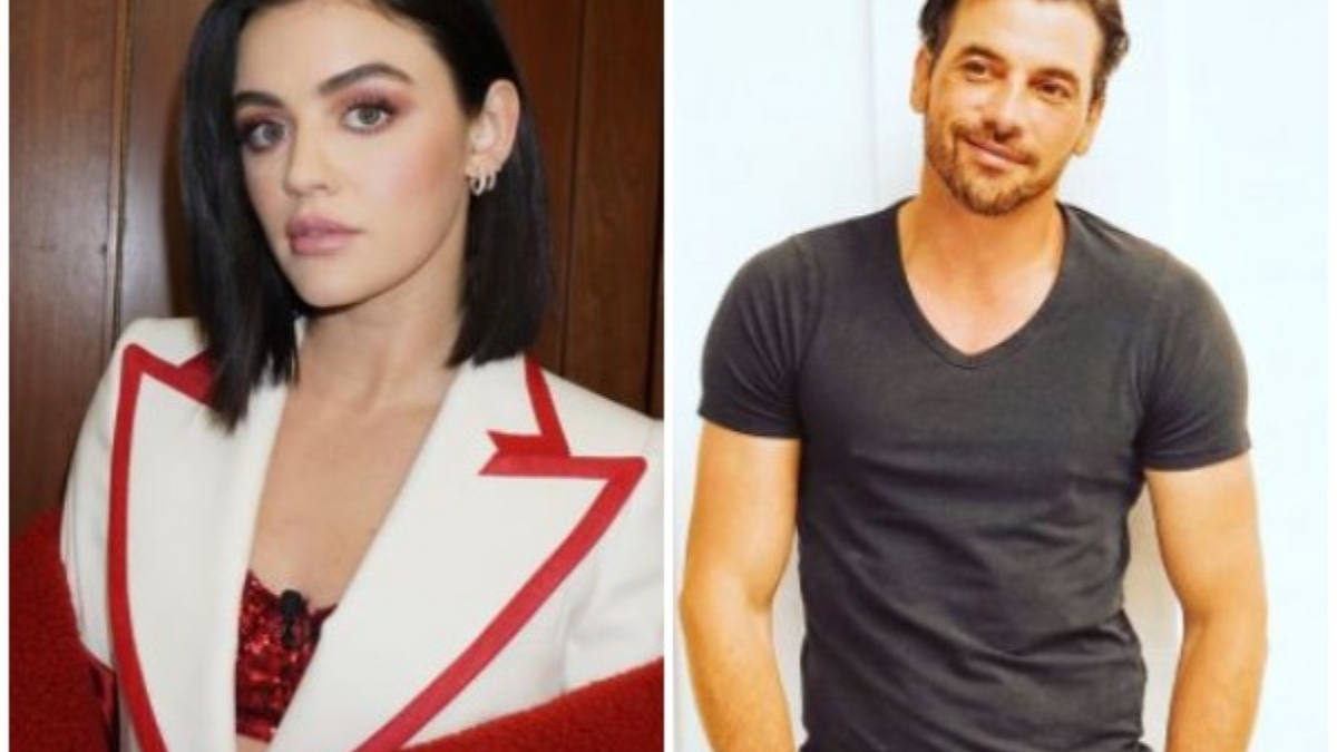Lucy Hale, Skeet Ulrich spotted in PDA-filled outing