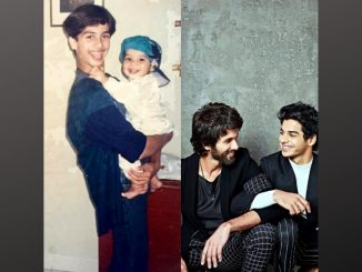 Ishaan Khatter shares an adorable throwback picture to wish Shahid Kapoor