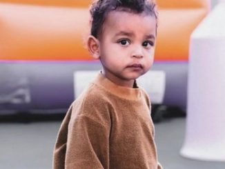 Kim Kardashian shares a picture of 'sweetest boy' Psalm