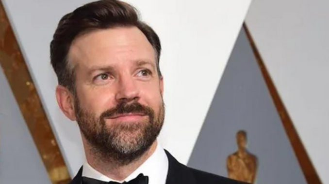 Jason Sudeikis wins his first-ever Golden Globe