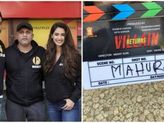 Disha Patani starts shooting for 'Ek Villain Returns'