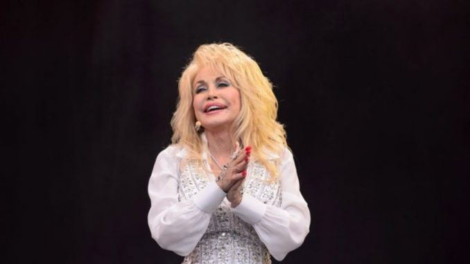 Dolly Parton gets shot of COVID-19 vaccine she helped fund
