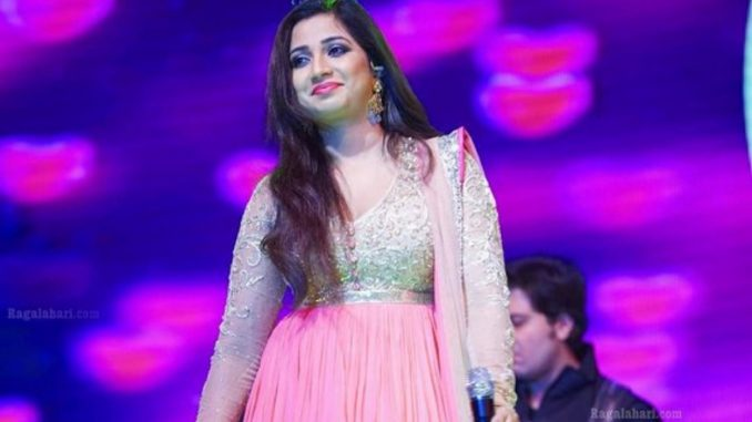 Shreya Ghoshal announces first pregnancy