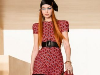 Gigi Hadid returns to the runway, flaunts red hair